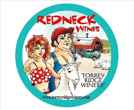 Redneck Family of Wines  image and link